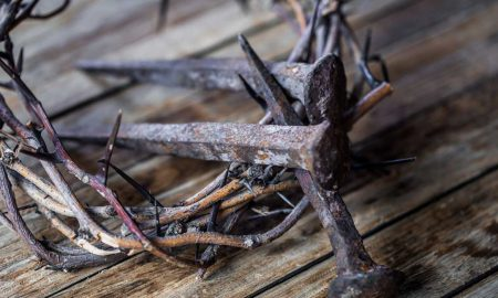 nails and crown of thorns
