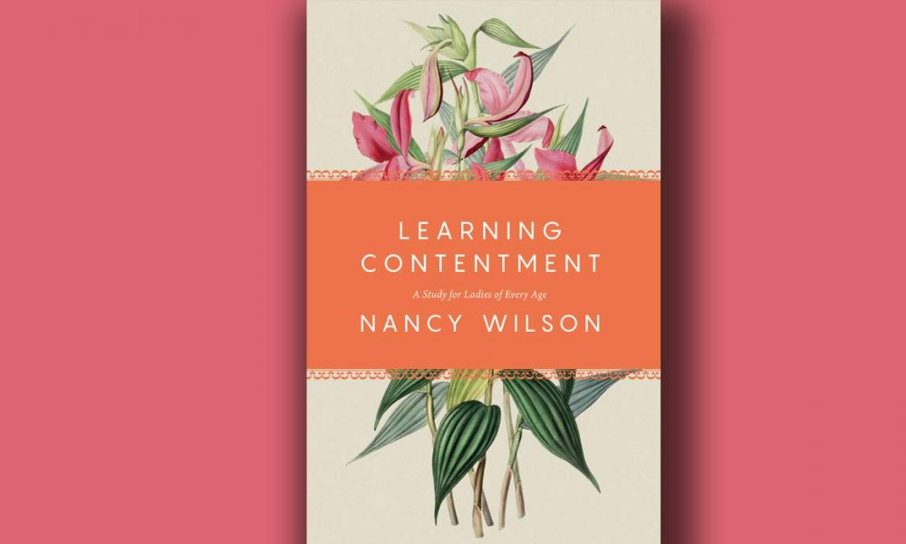 The cover of Learning Contentment by Nancy Wilson